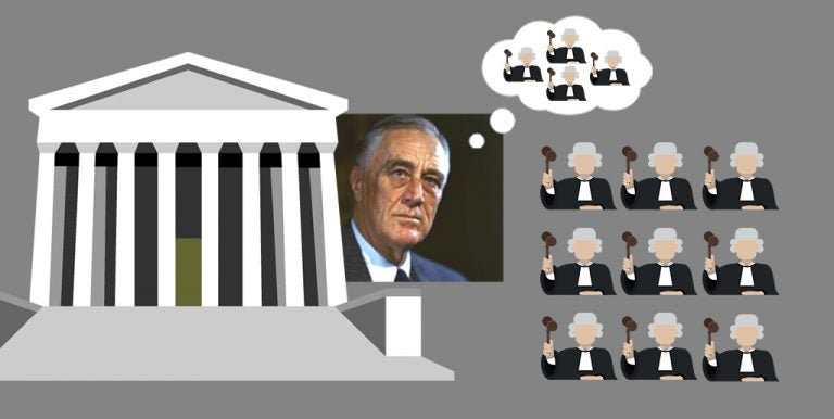 FDR ATTEMPTS TO EXPAND THE NUMBER OF SUPREME COURT JUSTICES