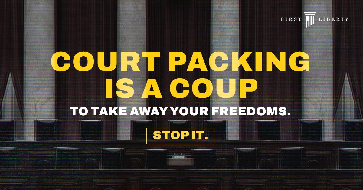 Biden bitten by Democratic dark money on court-packing scheme