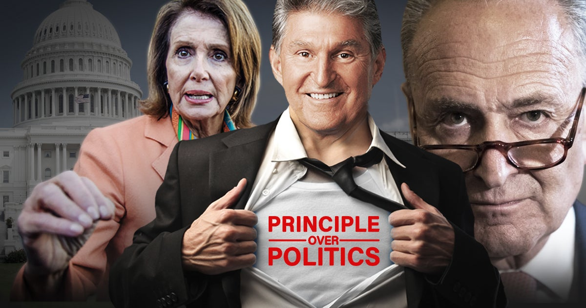 Will Sen. Joe Manchin Hold the Line to Defend Freedom in the Face of Mounting Pressure?